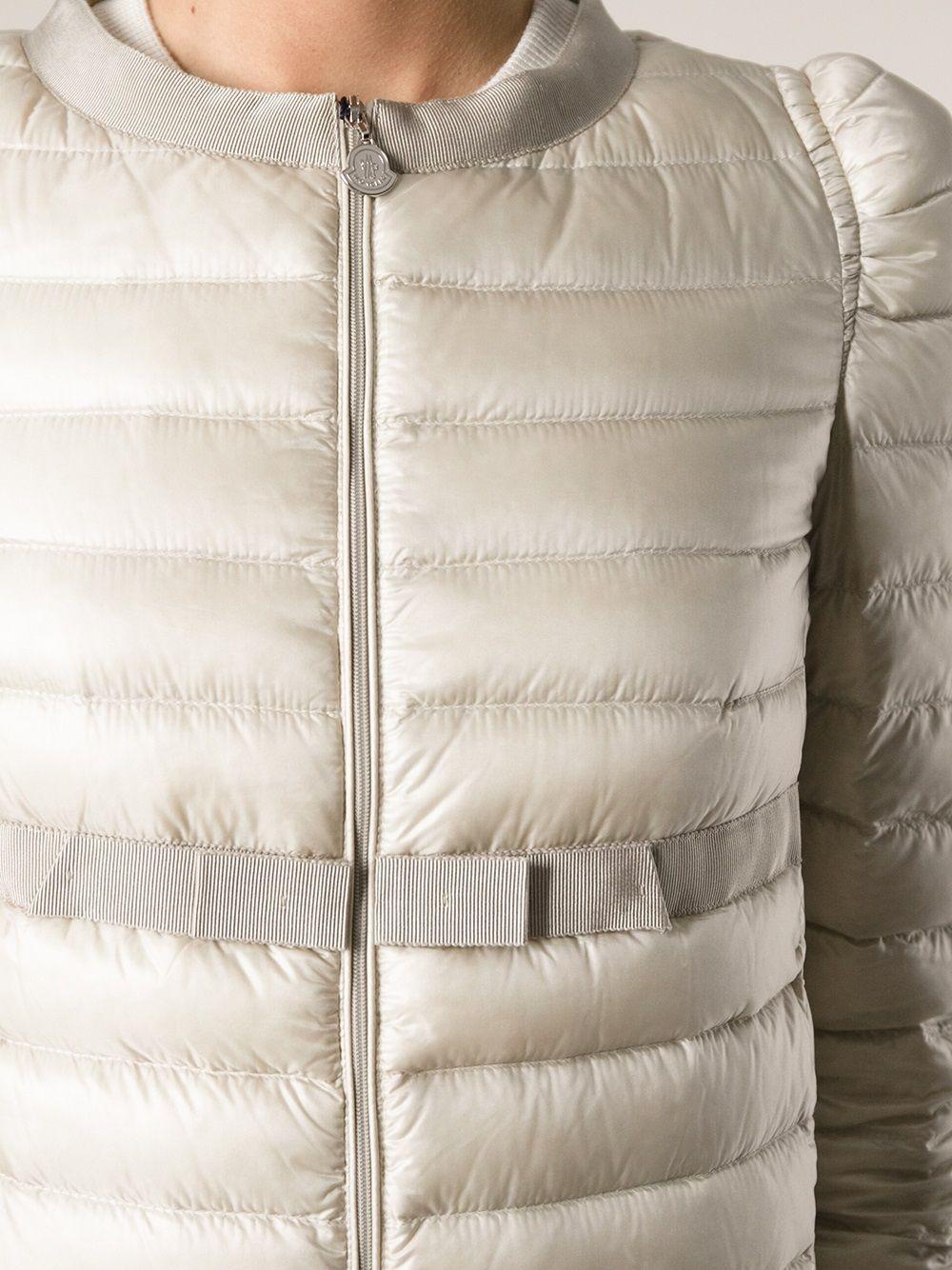 MONCLER - Ivory Dora padded jacket  #moncler #monclerjacket #womenjacket #jofré