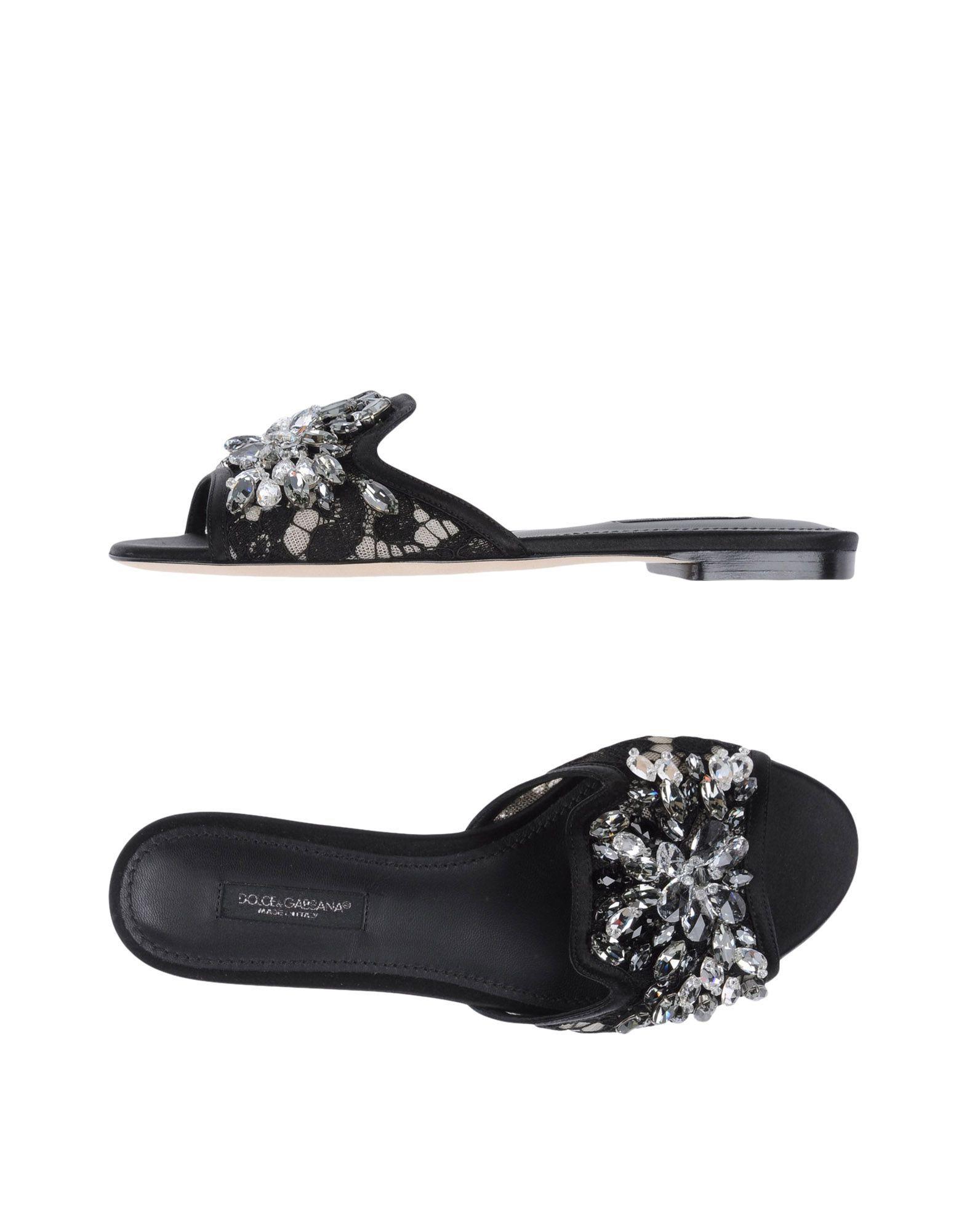 Dolce & Gabbana Sandalen Damen - Sandalen Dolce & Gabbana auf YOOX - 11189659WV