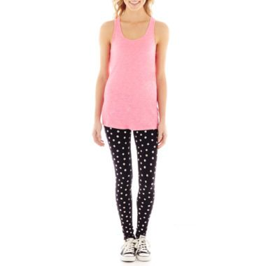 ba1bec5fd39b City Streets® Sleeveless Tank Top and Leggings Set found at  JCPenney