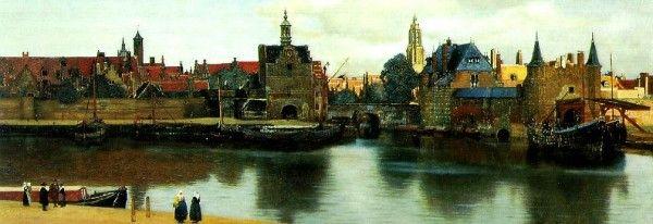 Vermeer,La Haye, Vue de Delft   Johannes vermeer, Histoire ...