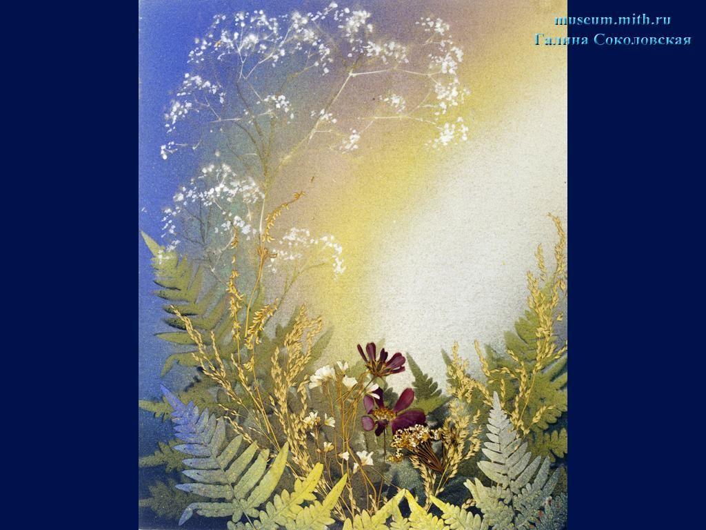 в галерею картин из цветов Г.Соколовской