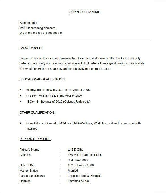 Doc Resume Examples Pinterest Sample resume, Resume and Resume