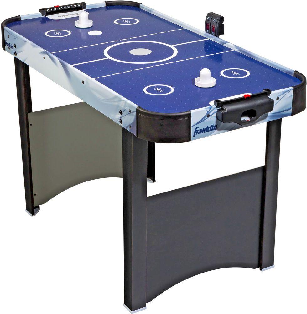 Air Hockey Table Mini Arcade Game Kids Play Pucks Accessories Electronic Scoring Homesupplies Kidstoys Kids Girl Game Room Kids Air Hockey Air Hockey Table