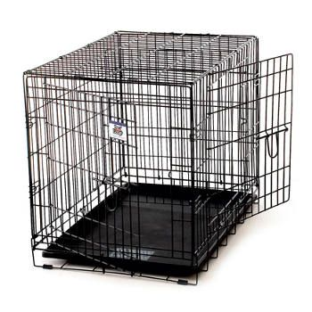 Pet Lodge Double Door Dog Crate Pet Crate Wire Dog Crates Large Dog Crate