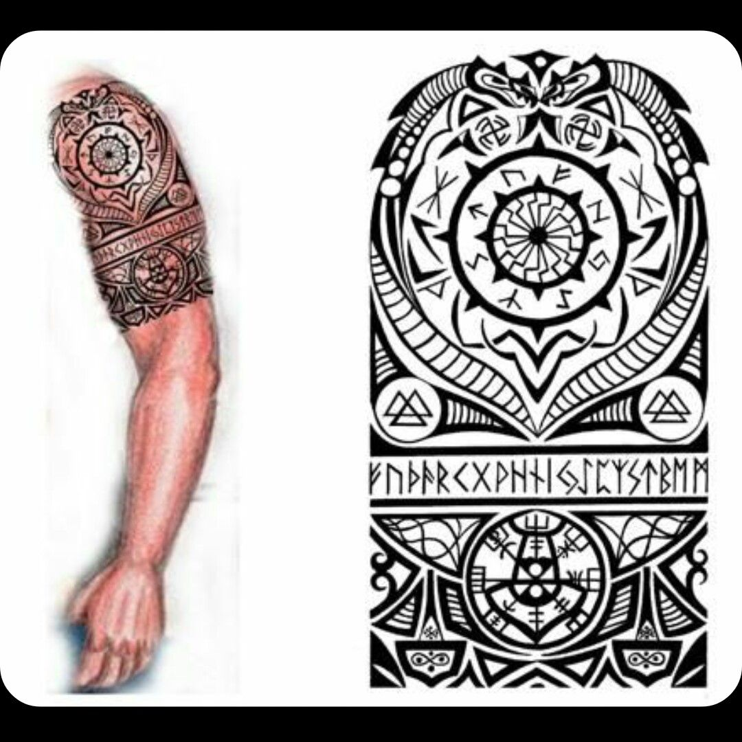 pin by chad garner on tattoos tatouage viking tatouage. Black Bedroom Furniture Sets. Home Design Ideas