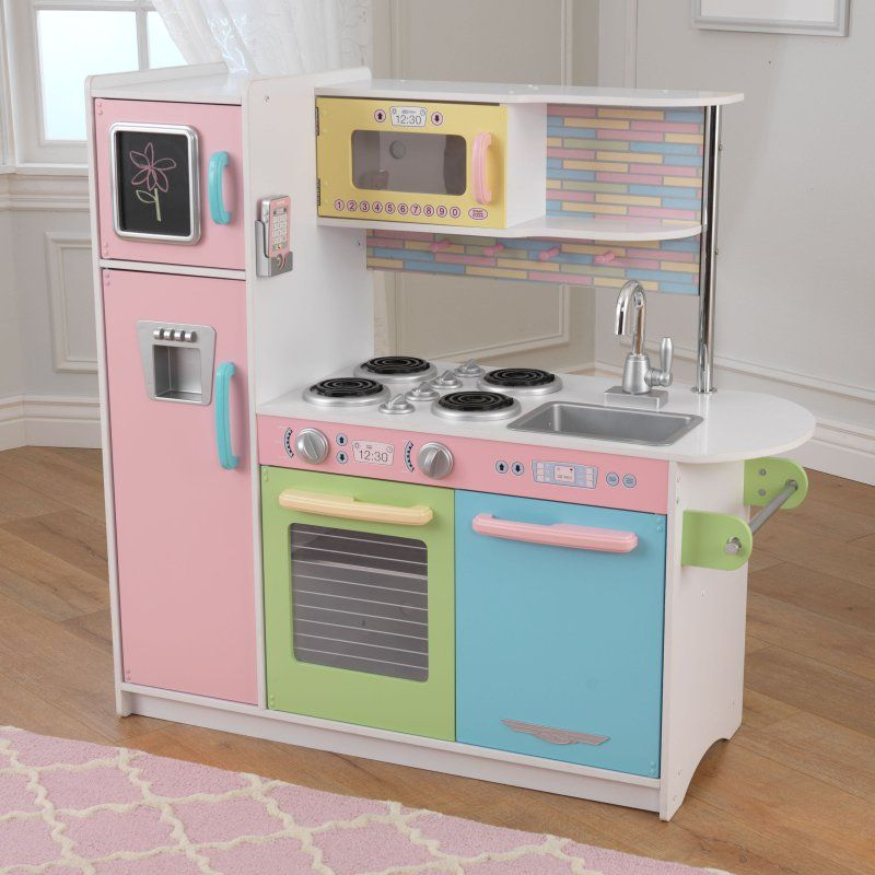 kid craft kitchen metal studs for outdoor kidkraft uptown pastel 53257 products