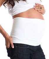 For any expecting modern mama, this tummy band will smooth and support a growing bump. Simply set atop bottoms for a secret means of stability. Plus, it'll extend the lives of any mid-pregnancy tops. 95% rayon / 5% spandexMachine wash; dry flatMade in the USA