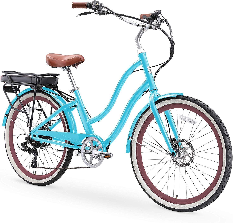 1 949 99 Sixthreezero Evryjourney Women S Step Through Hybrid Alloy Beach Cruiser Bicycle 24 Inch 26 Inch And In 2020 Beach Cruiser Bicycle Bicycle Cruiser Bicycle