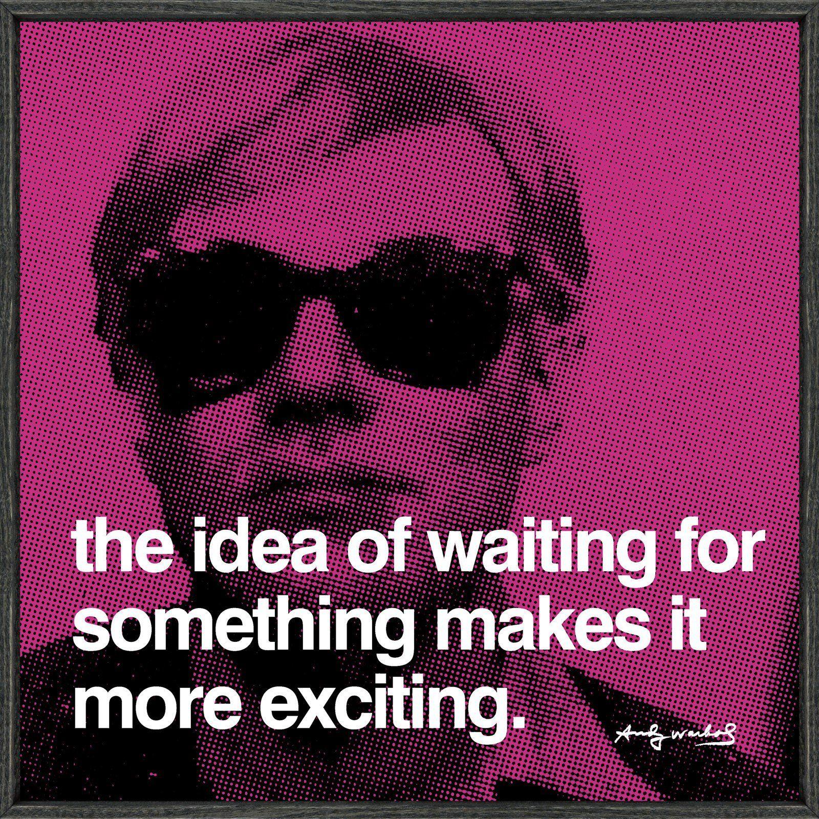 Andy Warhol Pop Art Quotes: Citat, Konst, Ord
