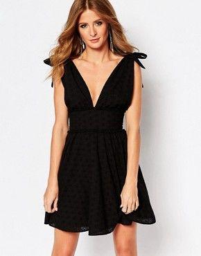 Mini vestido en ingles