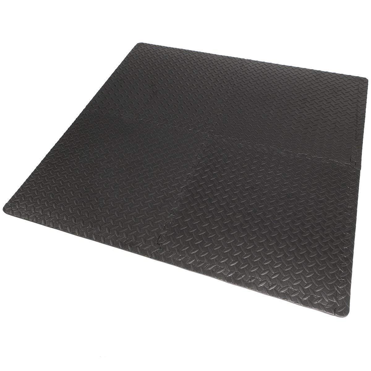 Xtremepowerus Home Exercise Mat Interlocking Tiles Puzzle Eva