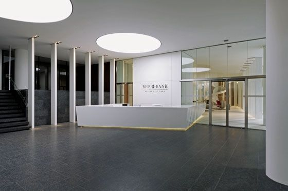 Private Banking Zentrale In Frankfurt By Wittfoht Architekten Office Facilities Private Banking Room Banking