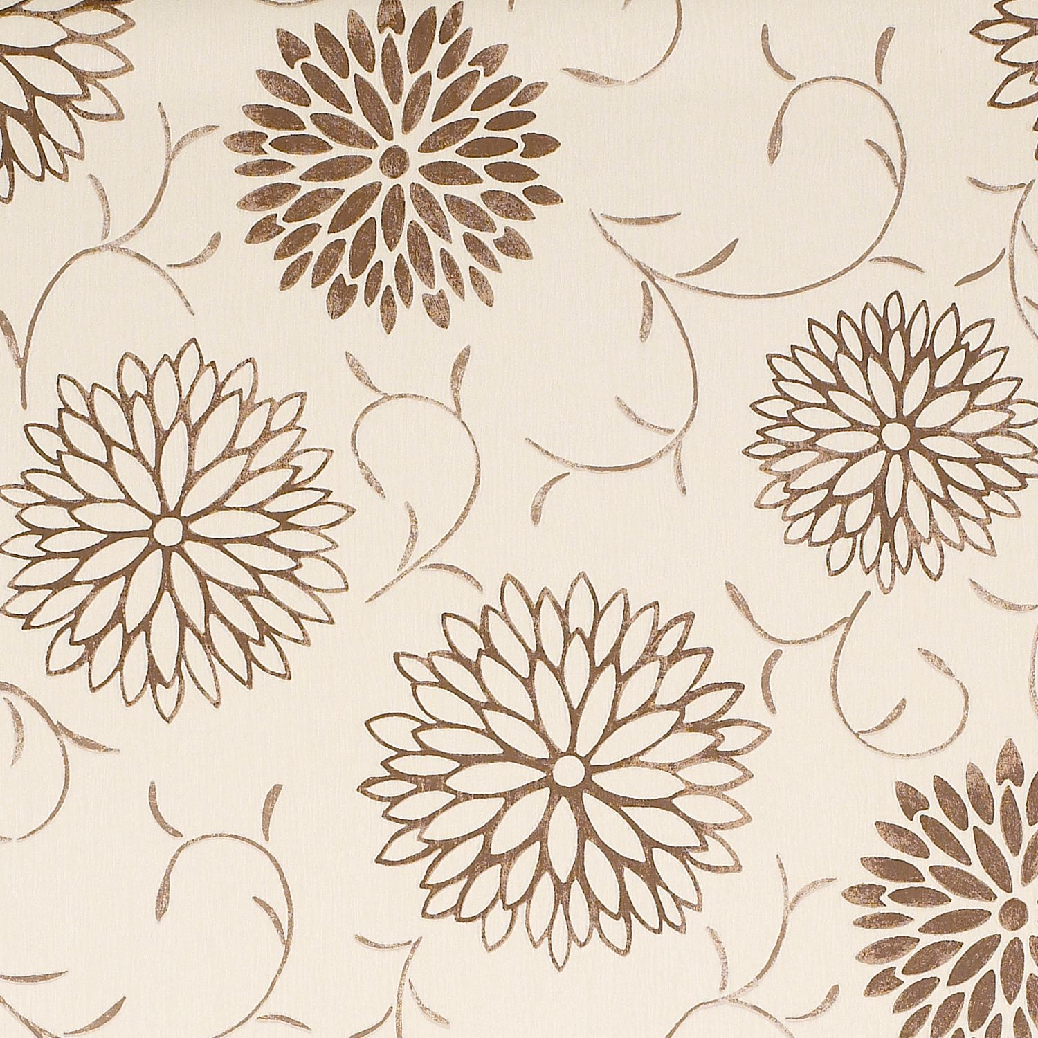 Colours Romantic Beige Brown Floral Wallpaper Departments