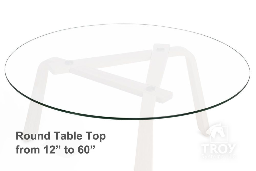 Round Gl Table Top 12 14 16 18
