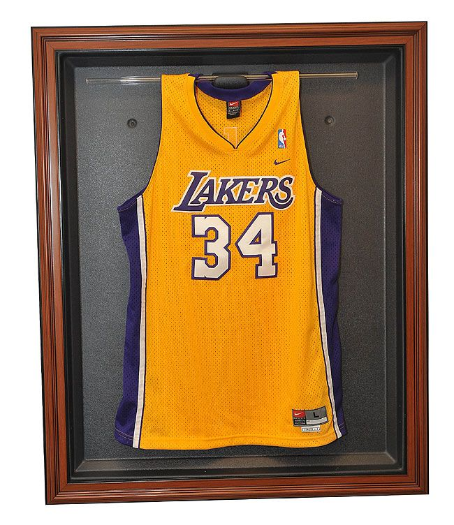 Caseworks N/A N/A Display Case for Basketball Jersey: Wood ...