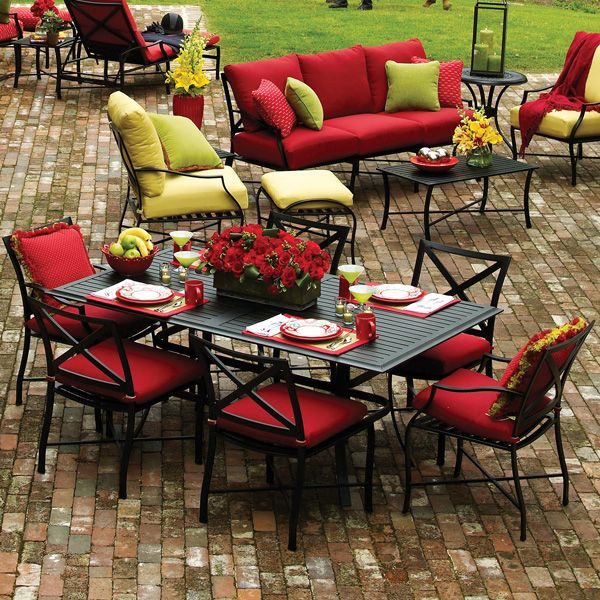 Dining Patio Furniture Metal Patio Furniture Patio Decor Patio Cushions Outdoor