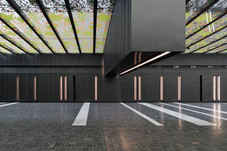 500 Bourke Street Foyer By Electrolight Lighting Designers