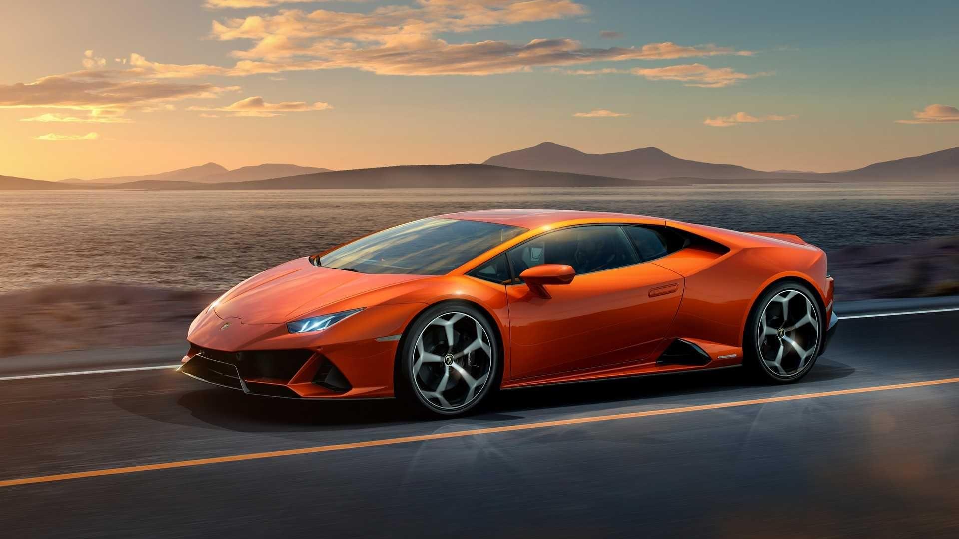 New Lamborghini Huracan Evo Supercar Lamborghini Huracan Sports Car Super Cars