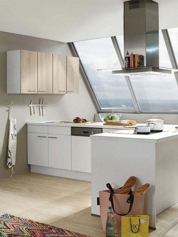 Eine helle Front lässt deine Küche größer und geräumiger wirken - www küchen quelle de