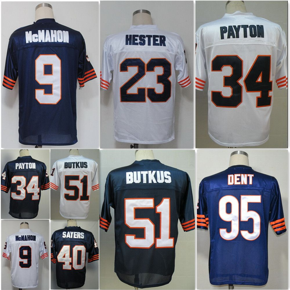 8e18ed49b81 ... NFL Jersey - Youth 9 Jim McMahon 34 Walter Payton 40 Gale Sayers 51  Dick Butkus ...