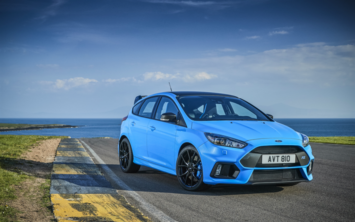Download Wallpapers Ford Focus Rs Limited Edition 4k 2018