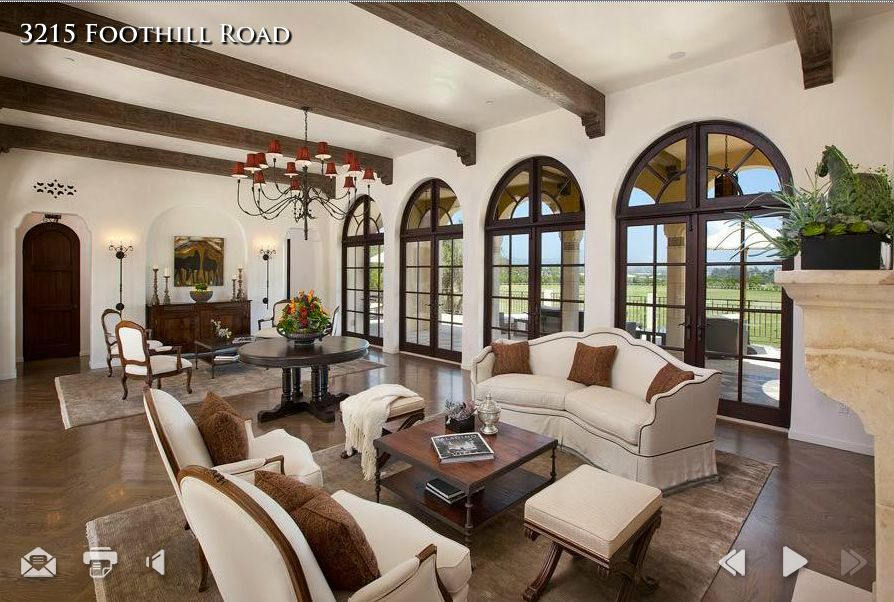 Spanish Living Room Design. Spanish Colonial  Living Room Dream House