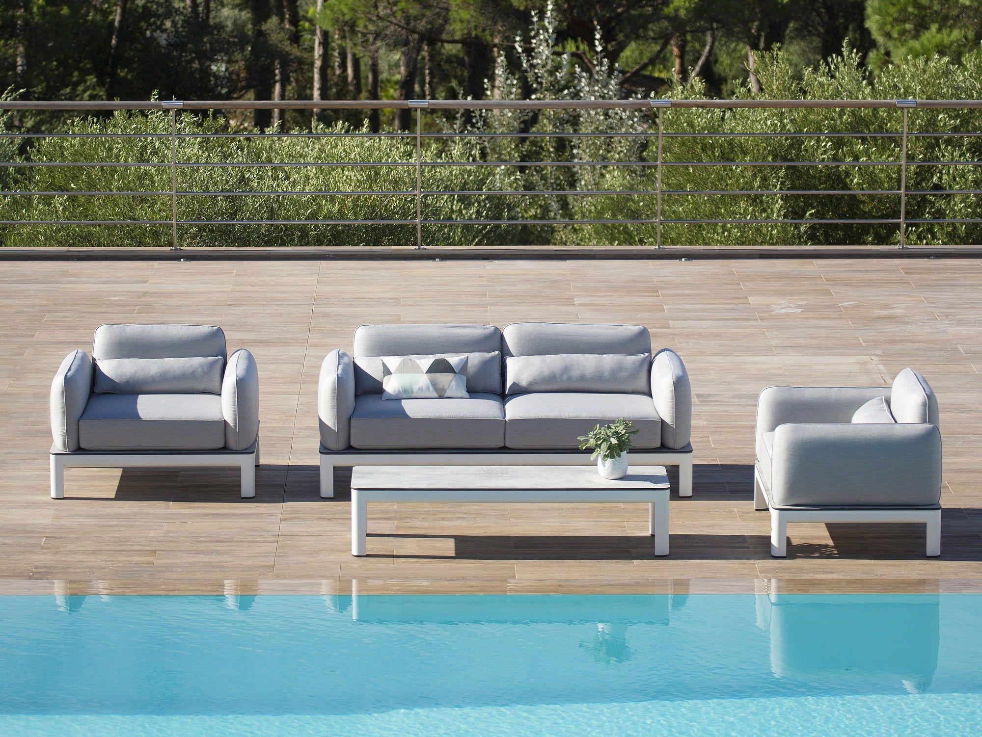 Fabric Garden Sofa With Removable Cover Koton Sofa Les Jardins Garden Furniture Garden Sofa Furniture