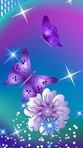 Fondos de pantalla animados a butterflies by fantastic for Bajar fondos de pantalla celular