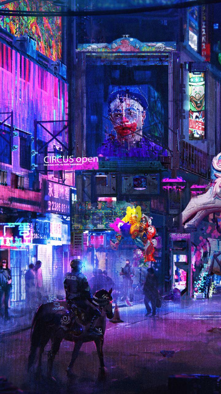 Cyberpunk phone wallpapers   HeroScreen in 2020   Phone ...
