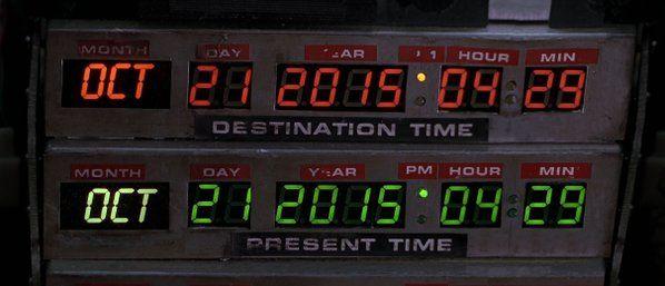 Heute mal was anderes: #Reisen durch die Zeit. Wo wird #McFly heute wohl ankommen?  #BackToTheFuture #DeLorean