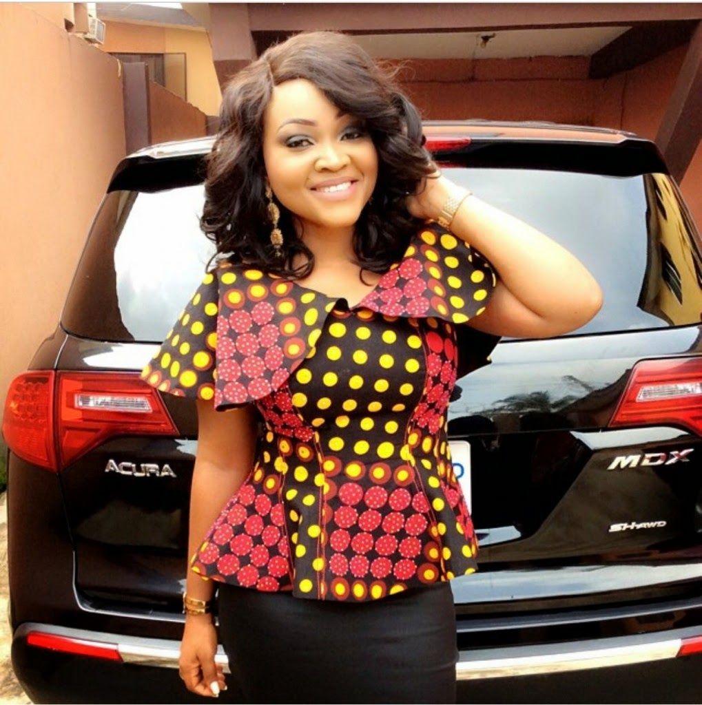 Shirt design in nigeria - Top 5 Ankara Dress Styles 1 Nigeria Style Blog