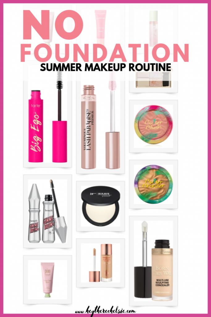 No Foundation Summer Makeup Summer makeup, Summer makeup