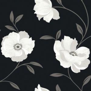 Arthouse Opera Charleston Black White Wallpaper Departments Diy At B Q
