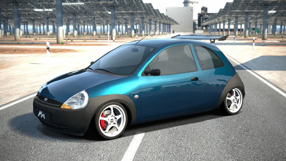 Ford Ka 01 Gran Turismo 6 Kudosprime Com Ford Ka Rebaixado Carros Ford