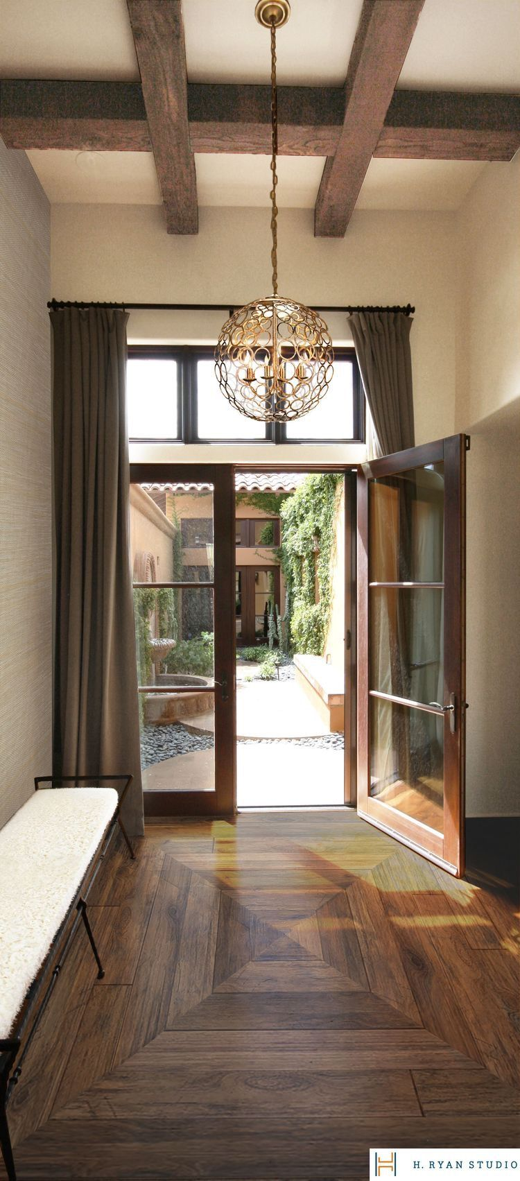 Pin by Ri W. on HOUSES/MANSIONS | Pinterest | Foyers, Flooring ideas ...