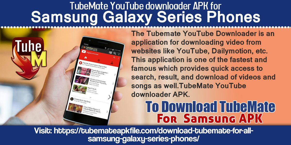 The Tubemate YouTube Downloader is an application for