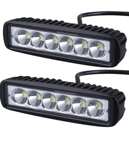 1 pair 6 inch mini 18w led light bar motorcycle led bar offroad 4x4 1 pair 6 inch mini 18w led light bar motorcycle led bar offroad 4x4 atv daytime aloadofball Choice Image