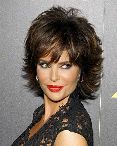 Short shag with highlights google search hello beautiful lisa rinna hairstyles see how to style lisa rinnas short layered shag hairstyle and pictures of the various ways lisa styles this look with highlights urmus Choice Image