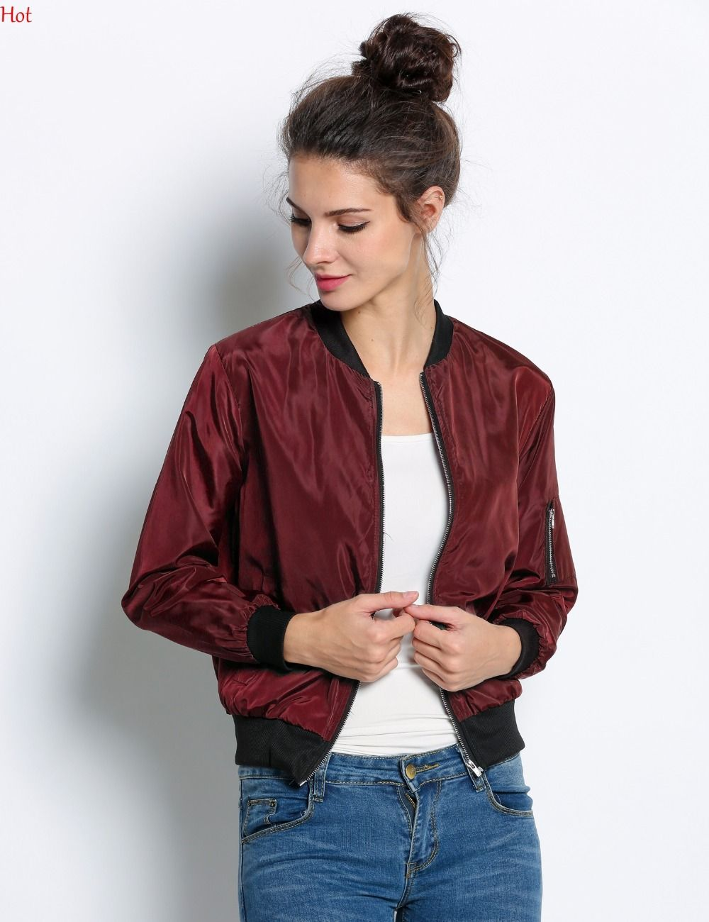 Bomber female: with what to wear Fashionable jackets for women