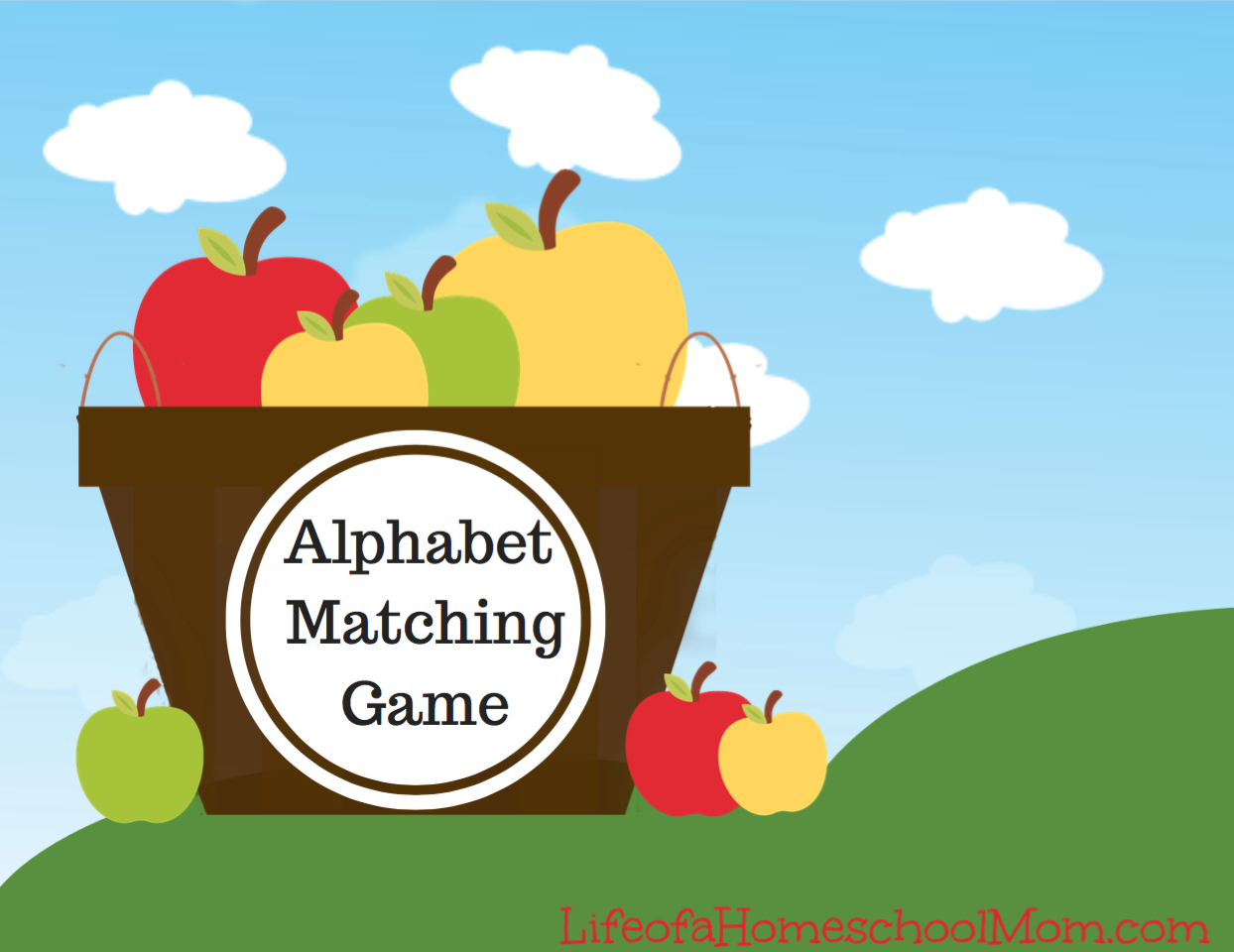 Fall Alphabet Matching Game