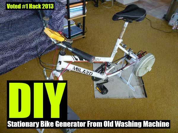 7 Quick Tips For Portable Generator Maintenance Diy Stationary Bike Old Washing Machine Diy Generator