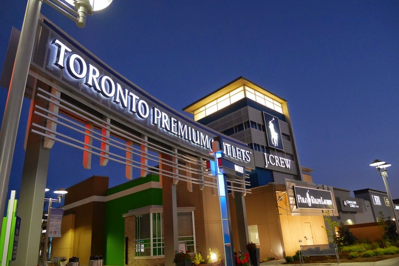 The Best Outlet Malls Around Toronto Styledemocracy Com