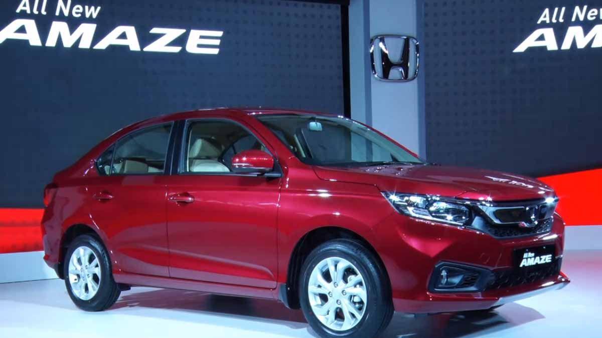 Honda New Car Amaze Wallpaper