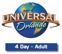 Kissimmee Guest Services - Universal 4 Day Ticket - Adult, $195.99 ...