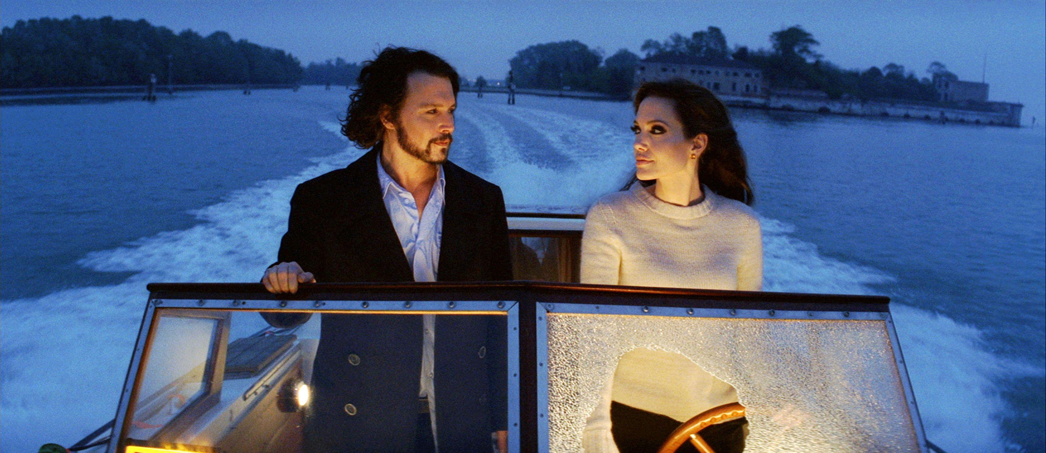 The Tourist22 Jpg 3 460 1 500 Pixels Johnny Depp Angelina Jolie