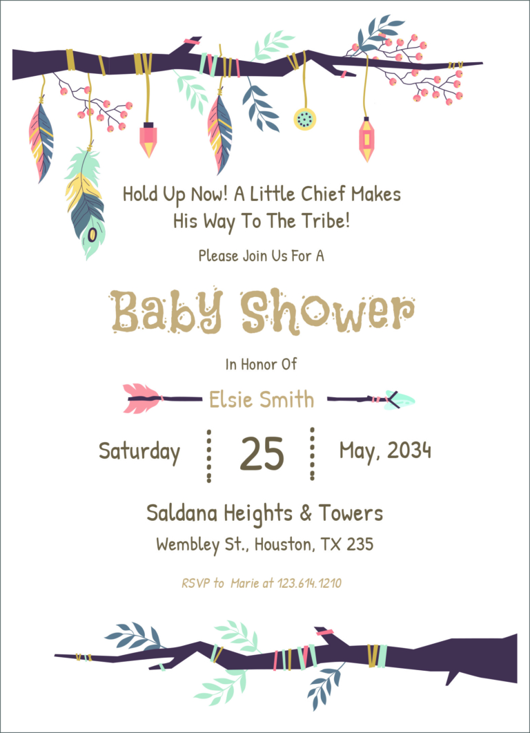 24 Free Editable Baby Shower Invitation Card Templates Free Baby Shower Invitations Printable Baby Shower Invitations Custom Baby Shower Invitations