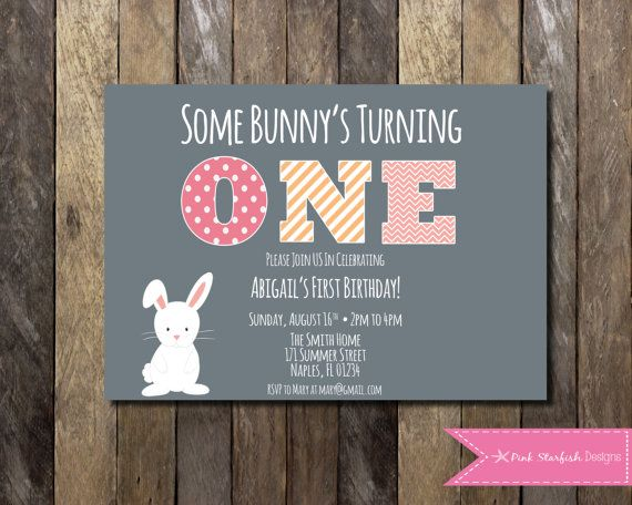 Bunny first birthday invitation 1st birthday invitation bunny bunny first birthday invitation 1st birthday invitation bunny rabbit easter invitation some bunnys turning one printable invitation filmwisefo Choice Image