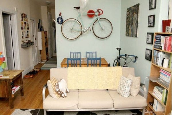 Creative Ideas That Show You How To Park Your Bike Indoors | Bike ...