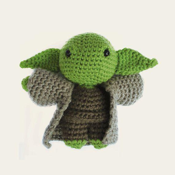 Yoda Star Wars. Amigurumi Pattern PDF DIY Crafts by Mindundia ...
