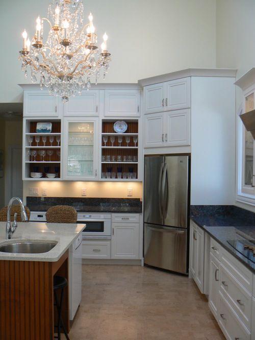 Fridge in corner... | kitchen | Pinterest | Kitchens, Kitchen reno ...